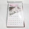 【レビュー】100均 セリア【カレンダー 2019 卓上縦型 ネコ】省スペースで猫の定番卓上カレンダーです