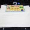 【レビュー】100均 ダイソー【はぎれ サイズ90cm×90cm 白】いわゆる布です。使い方はいろいろ。