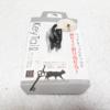 【レビュー】100均 ダイソー【キーテイル ブラック 猫】猫のしっぽのキーフック!